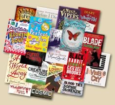 Montage of 2009 shortlist books